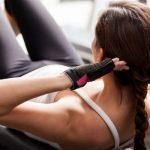 腹筋運動(シットアップ)によるトレーニング