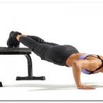 デクライン・プッシュアップによる大胸筋上部のトレーニング