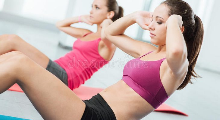 クランチ(腹筋運動)のトレーニング