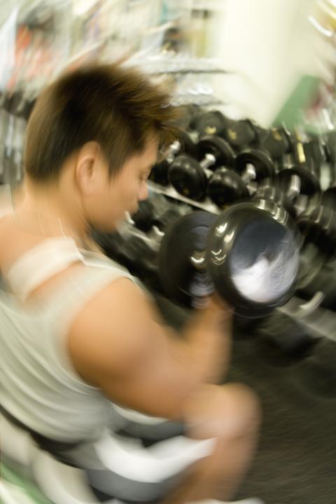 筋肉追い込みアームカール
